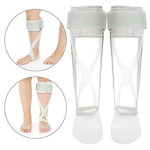 Ortesi per piede alla caviglia, dispositivo di recupero molla a balestra per stecche per la caduta del piede Correzione per la protezione della caviglia Supporto per ad angolo di 90 °(8#)