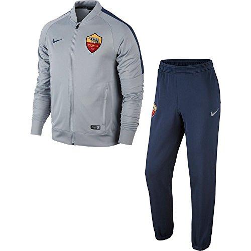 Nike 2014–2015AS Roma Knit Tracksuit (grau) Größe L grau - grau