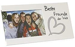 Bada Bing Bilderrahmen Fotorahmen Beste Schwester der Welt Geschenk Edel Weiß 03