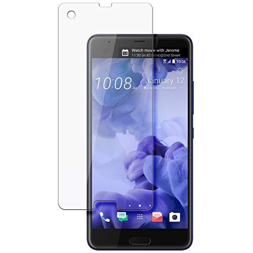 disGuard Schutzfolie für HTC U Ultra [2 Stück] Entspiegelnde Bildschirmschutzfolie, MATT, Glasfolie, Panzerglas-Folie, Bildschirmschutz, Hoher Festigkeitgrad, Glasschutz, Anti-Reflex