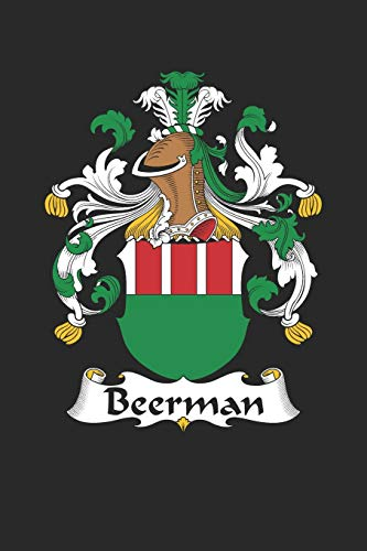 Beerman: Beerman Coat of Arms and Family Crest Notebook Journal (6 x 9 - 100 pages)