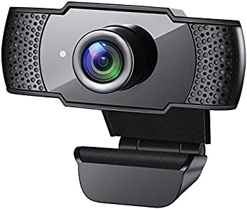 Gesma 1080P HD Streaming USB Computer Webcam with Microphone