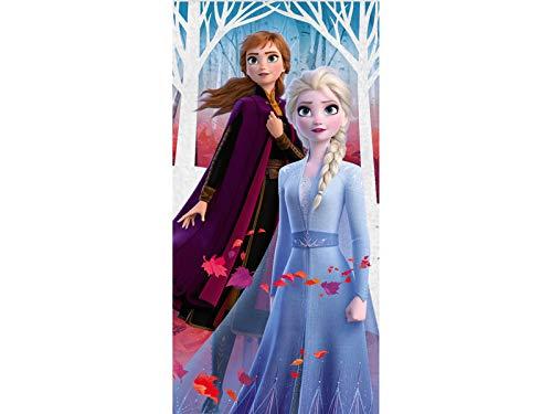 Disney Frozen Eiskönigin Badetuch, 70 x 140 cm, mehrfarbig