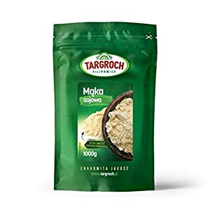 Targroch Harina de Soja Paquete de 1 x 1000g - Fibra - Proteína - Para Veganos y Vegetarianos