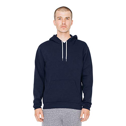 American Apparel Herren Flex Fleece Long Sleeve Pullover Hoodie Kapuzenpulli, Navy, X-Small
