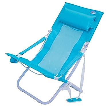 Rio Beach Portable Compact Fold Breeze Beach Sling Chair, Teal
