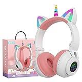 Hisonic - Auriculares Bluetooth para niños a partir de 3 años, diseño de...