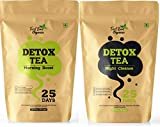 First Bud Organics Detox Tea 100 gm -25 Days and Night Combo Detox Tea for Weight Loss and Skin Glow...