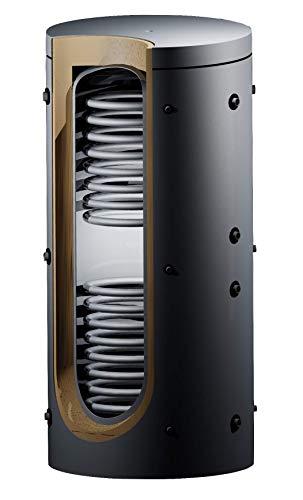 Pufferspeicher 1000 Liter mit 2 Wärmetauschern für Solar & Isolierung