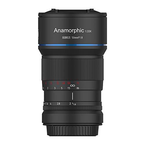 SIRUI SR-MEK7E Objektiv 50mm Anamorphot (Blende f1.8, Faktor 1.33x, Bajonett E-Mount) schwarz
