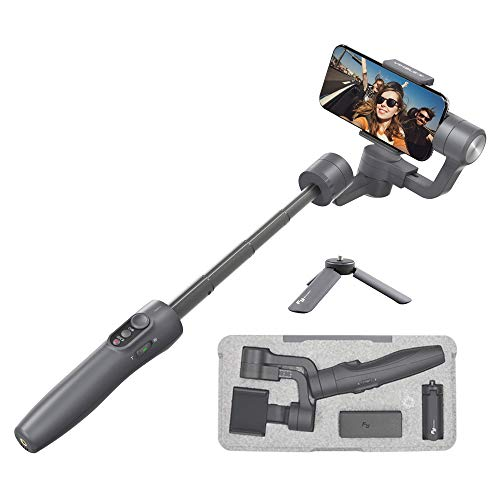 FeiyuTech Vimble 2 Handy Smartphone Gimbal stabilisator,Ausziehbar Phone 3-Achsen Handheld Stabilizer für IOS iPhone 12/11/Xs/XR/8 Android Samsung,Huawer...