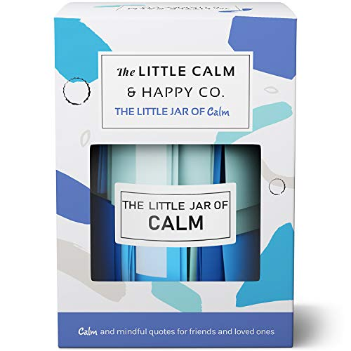 The Little Calm And Happy Company Calm And Mindfulness Positive Quotes Jar 30 Notes Powerful Quotes Inspirational Positive Messages For Daily