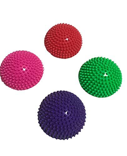 [LaMiaContessa] 4個セット 半球 バランス ボール フット ヘルス アルマジロ バランス トレーニング