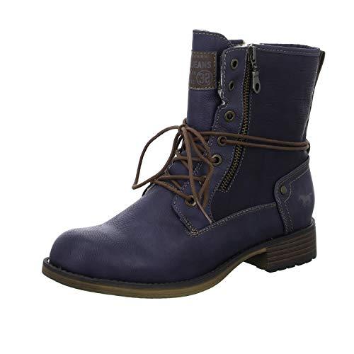 MUSTANG Damen 1139-629-800 Stiefel, Blau (Dunkelblau), 37 EU