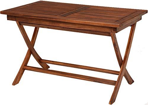 ガーデンテーブル テーブル ダイニングテーブル 幅120cm チーク材 長方形 アウトドア 木製 屋外 テラス 折りたたみ 軽量 コンパクト