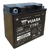 Batería Yuasa YB9-B de B, 12V/9Ah (Dimensiones: 138x 77x 141) para Piaggio/Vespa Liberty 50(4T) Año de Construcción 2009