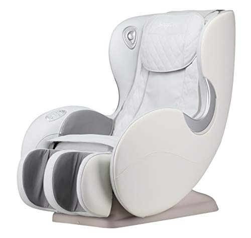 BOSSCARE Massage Chairs SL Track Full Body and Recliner, Shiatsu Recliner, Massage Chair with Bluetooth Speaker(Beige GR8526 LED)