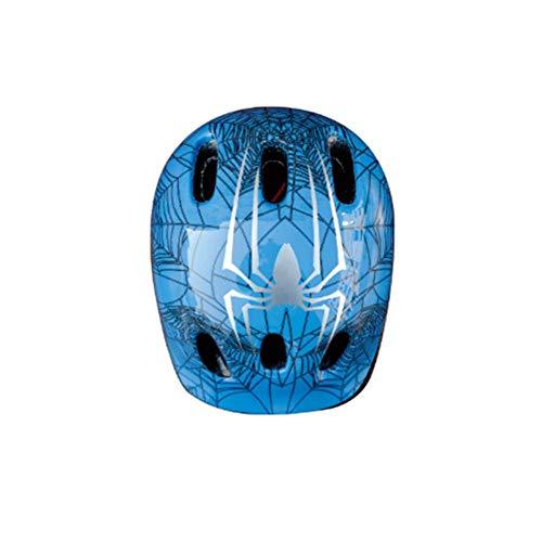 JUIANG Helm Kinder,Fahrradhelm,Spinne Graffiti Shell + kindliche Farbe Webbing + 7mm Schwamm Futter, gibt es 2 Farben zur Auswahl, für Skihelm, Motorradhelm, Fahrradhelm,Größe: S Code (50-53cm)