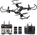 B-Qtech Drone with Camera 4K HD WiFi for Adults and...
