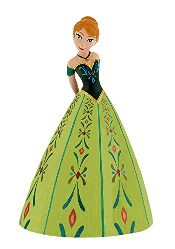 Bullyland 12967 - Spielfigur, Walt Disney Frozen, Prinzessin Anna, ca. 9,6 cm