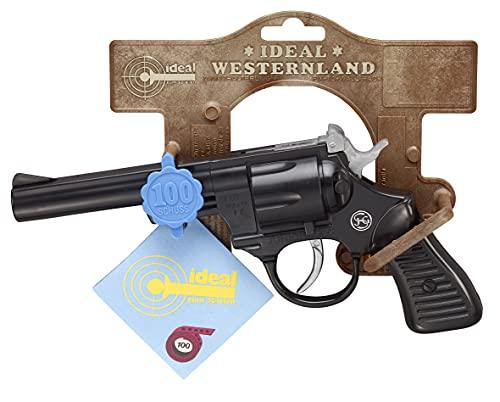 """Schrödel- Pistolet Jouet Junior 200"""" 21cm 100-coups, 4019151, Taille Unique"""