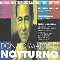 Notturno by GROUP FOR CONTEMPORARY MUSIC (1995-11-20)
