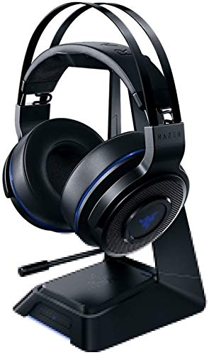 Razer Thresher Ultimate for PS4: Dolby 7.1 Surround Sound Lag-Free Wireless Connection Retractable Digital Microphone Gaming Headset Works with PC, PS4, PS5