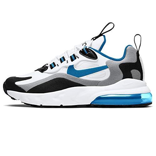 Nike Air Max 270 RT (PS), Scarpe da Corsa Bambino, White/Laser Blue-Wolf Grey-Black, 31 EU
