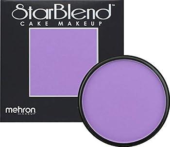 Mehron Makeup StarBlend Cake  2 oz   Purple