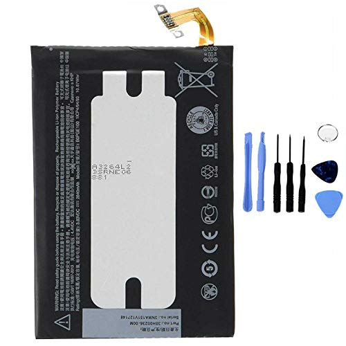 Ellenne Batería compatible con HTC One M9 B0PGE100 Alta capacidad 2840 mAh con kit de desmontaje incluido by Store