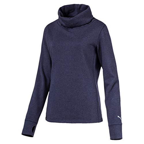 Preisvergleich Produktbild PUMA Damen W Cozy Pullover,  Peacoat Heather,  XS