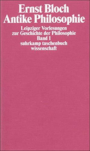 Leipziger Vorlesungen zur Geschichte der Philosophie 1950–1956: Antike Philosophie / Christliche Philosophie des Mittelalters. Philosophie der ... (suhrkamp taschenbuch wissenschaft)