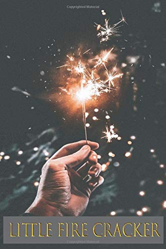 Little Fire Cracker: 4th of july sparklers , firework fuse ,wedding sparkles,diwali firecrackers,fireworks sticks,party,birthday, notebook , journal