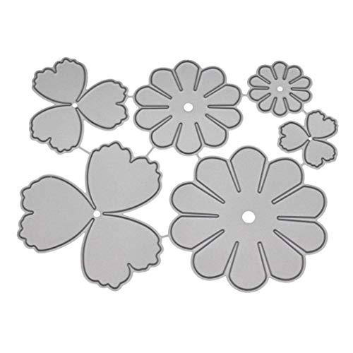 ❤️JiaMeng DIY Juego de Troqueles Pad Replacements para Máquina Troqueladora y Estampadora,Die-Planta,Scrapbooking (Q)