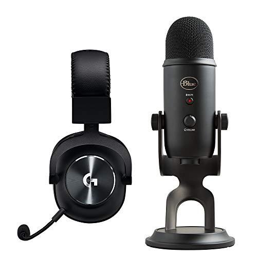 Logitech G PRO X (2. Generation) Gaming-Headset + Blue Microphones Yeti USB-Mikrofon