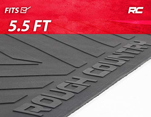 Rough Country Rubber Bed Mat (fits) 2015-2020 F150 5.5 FT Bed RCM640
