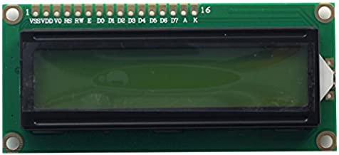 Arducam 1602 16x2 LCD Display Module Based on HD44780 Controller Character Black on Green with Backlight for Arduino