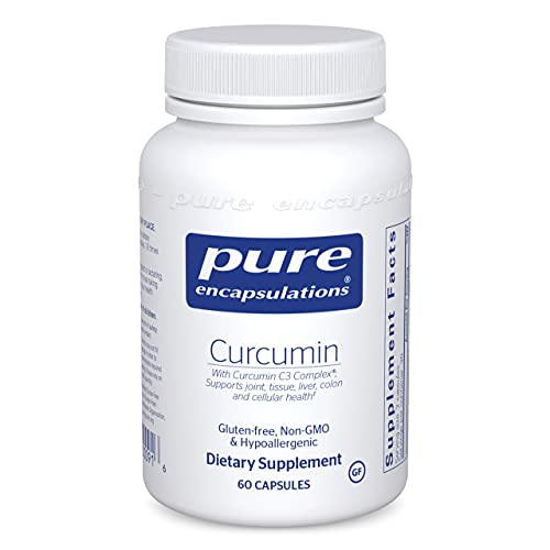 Pure Encapsulations Curcumin   Curcumin C3 Complex to Support Joints, Tissue, Liver, Colon, Brain, and Cellular Health*   60 Capsules