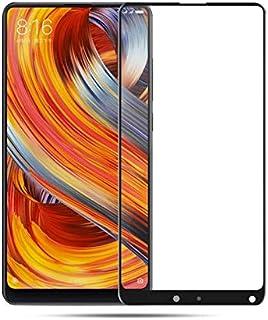 واقي شاشة زجاجي مقاوم للكسر بغطاء كامل 9H لهاتف Xiaomi Mi Mix 2s Mix2s لـ Xiaomi Mi Mix 2 Pro 64GB 128GB 256GB (لون أبيض ل...