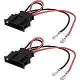Sound-way 2 x Cables Adaptadores Altavoces compatibles con Seat, Volkswagen