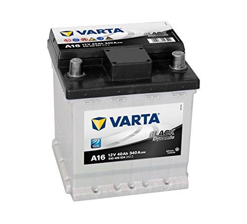 Varta 5404060343122 Starterbatterie in Spezial Transportverpackung und Auslaufschutz Stopfen
