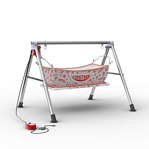 TRANSFORMIUM Baby Rocks Premium Stainless Steel Automatic Electric Ghodiyu Cradle Swing
