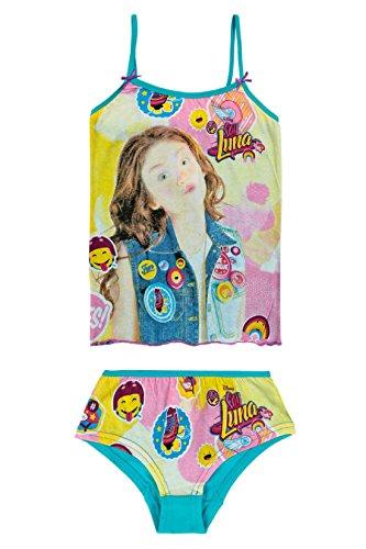 Set van topjes en boxershorts van katoen voor meisjes