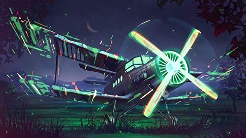 Puzzel Für Erwachsenen Puzzle 1000 Teile Kind Puzzles-Propeller-Aus Holz Puzzle Panorama Art DIY Leisure Game Fun Geschenk Spielzeug Geeignete Freunde Familie