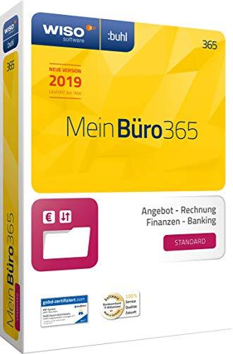 WISO Mein Büro 365 (2019) Standard | Bürosoftware, Rechnung schreiben, Buchhaltung u. v. m.