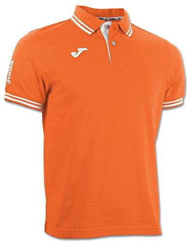 Joma 3007S13.80 Polo Sportswear, Orange, FR : S (Taille Fabricant : S)