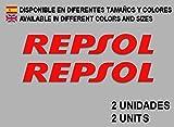 Ecoshirt AG-0ITS-93IP Pegatinas Stickers Repsol F09 Aufkleber Decals Autocollants Adesivi, Rojo