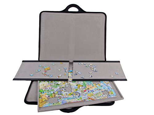 jigthings JIGSORT 500 - Jigsaw Puzzle case for up to 500 Pieces from