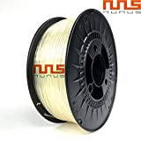 NuNus 3D Printer Impresora ABS Filament 1,75mm 1KG (transparente)...