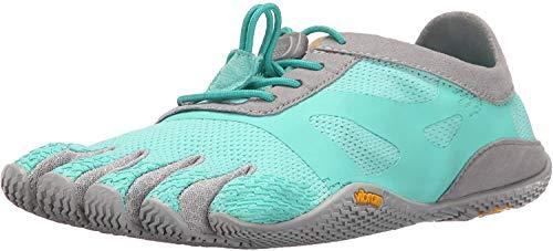 Vibram FiveFingers 16W0702 KSO Evo, Outdoor Fitnessschuhe Damen, Mehrfarbig (Mint/grey), 36 EU
